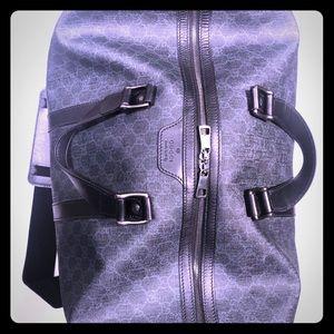 AUTHENTIC GUCCI monogram duffel bag for travel!!